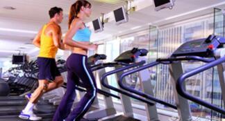 跑步健身有利身心,引领健身潮流