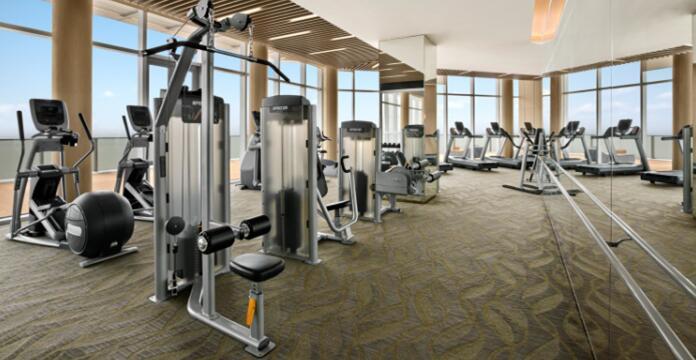 上海辰望承接的企事业单位健身房成功案例介绍