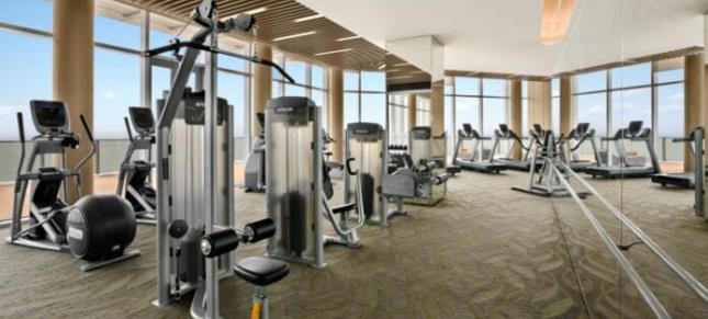 郑州威诺承接的企事业单位健身房成功案例介绍