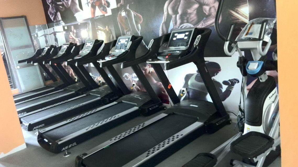 跑步机锻炼区域