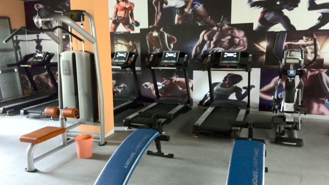 腹肌训练区域