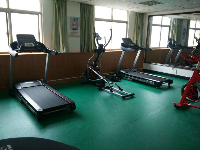 企事业单位健身房实景效果5