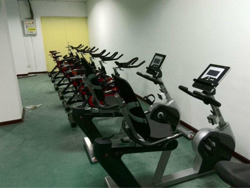 动感单车锻炼区