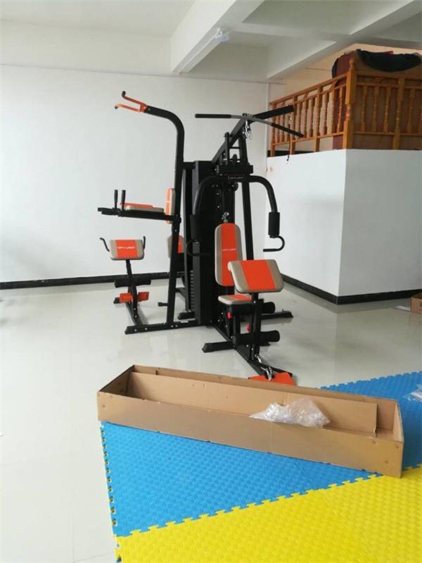 威宇三人站综合训练器