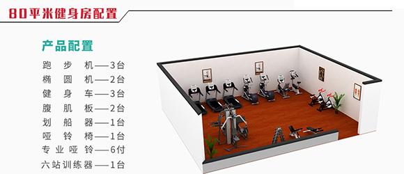 郑州威诺承接的企事业单位健身房大致流程