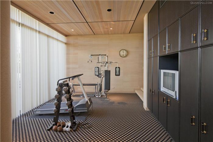 800平米酒店健身房效果图